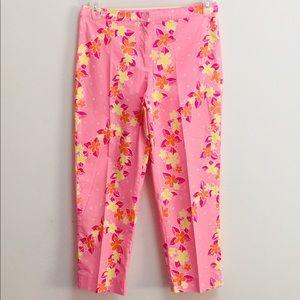 Lily Pulitzer Pink Floral Capri (8)